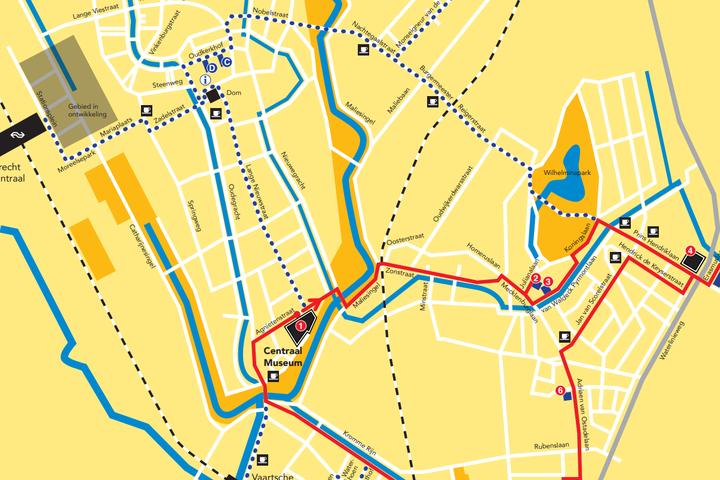 Walk the Rietveld Route through Utrecht